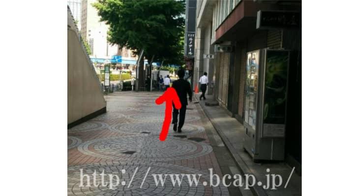 キレイサローネ新宿店までのアクセス方法7