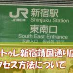 ヴィトゥレ新宿靖国通り店のアクセス方法