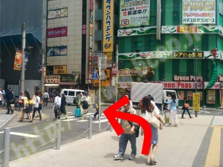 ヴィトゥレ新宿靖国通り店のアクセス方法2