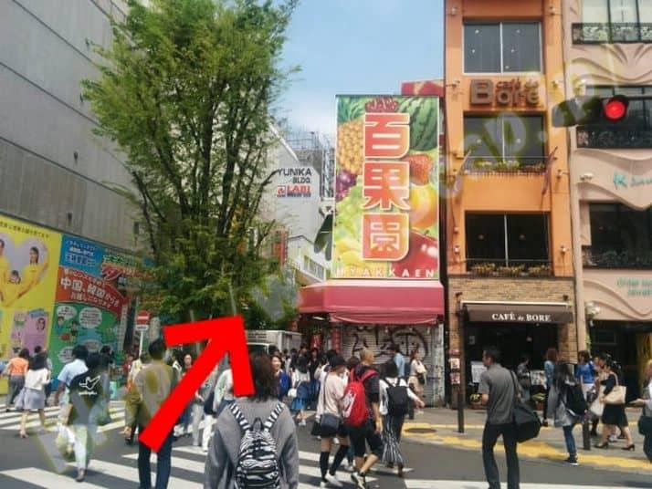 ヴィトゥレ新宿靖国通り店のアクセス方法7