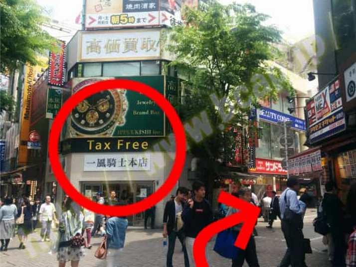 ヴィトゥレ新宿靖国通り店のアクセス方法8