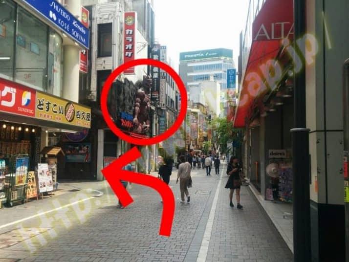 ヴィトゥレ新宿靖国通り店のアクセス方法9