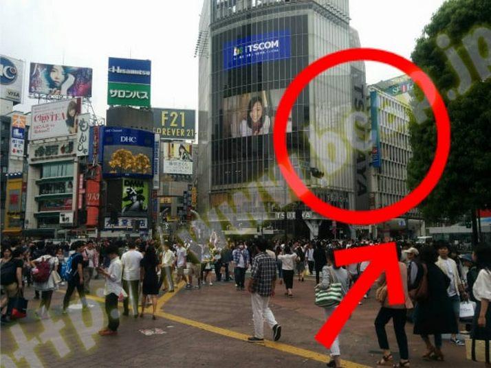 ヴィトゥレ渋谷東急ハンズ前店のアクセス方法1