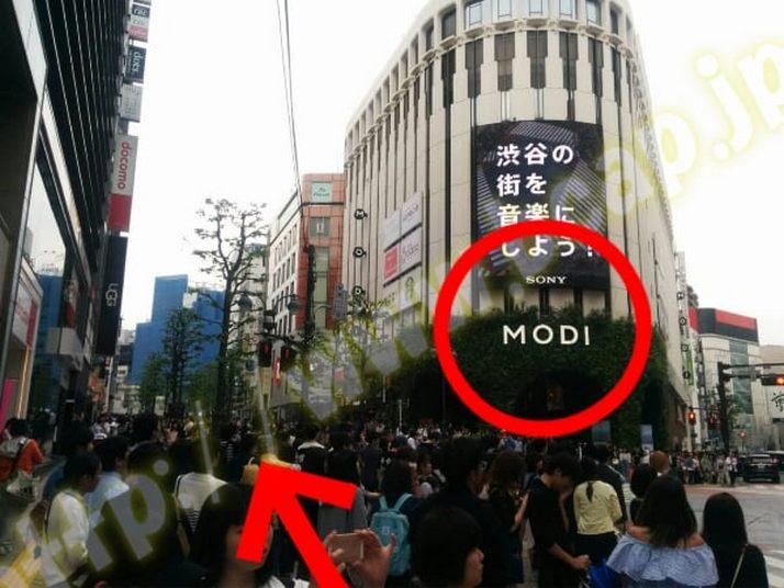 ヴィトゥレ渋谷東急ハンズ前店のアクセス方法3