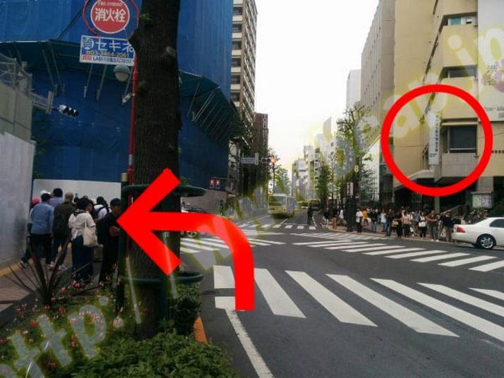 ヴィトゥレ渋谷東急ハンズ前店のアクセス方法4