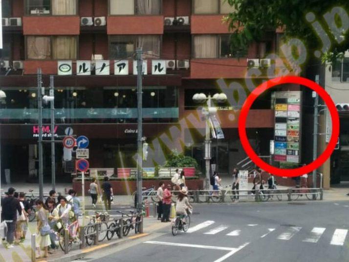 ヴィトゥレ渋谷東急ハンズ前店のアクセス方法5