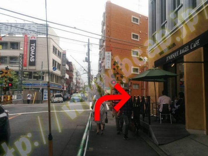 ヴィトゥレ自由が丘本店のアクセス方法4