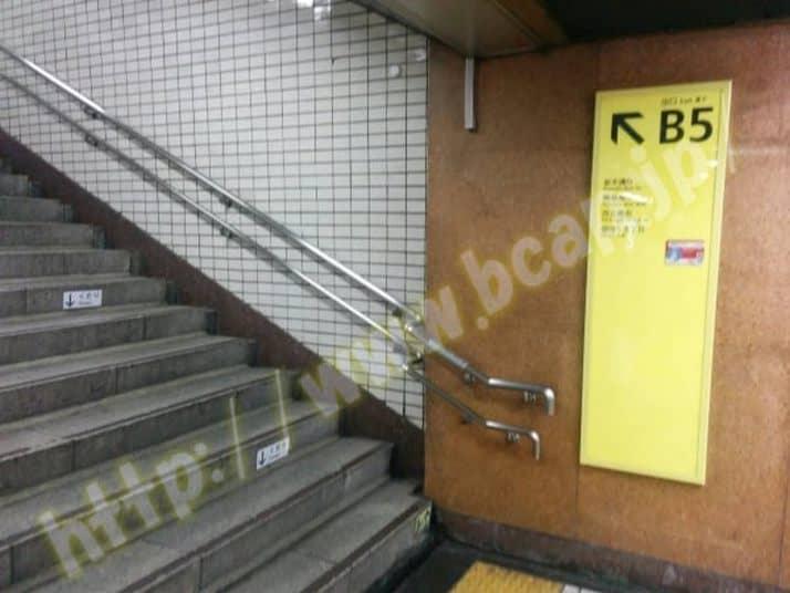 ヴィトゥレ銀座本店のアクセス方法2