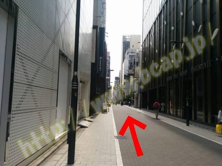 ヴィトゥレ銀座本店のアクセス方法5
