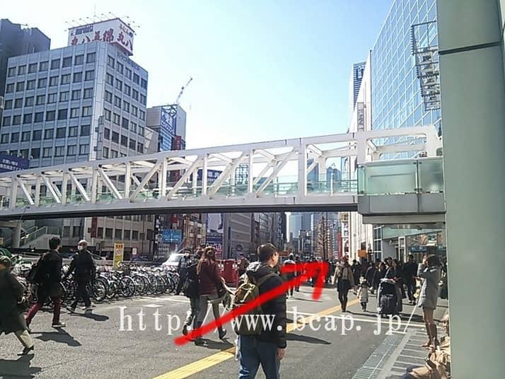 D.D.labo新宿店のアクセス方法2