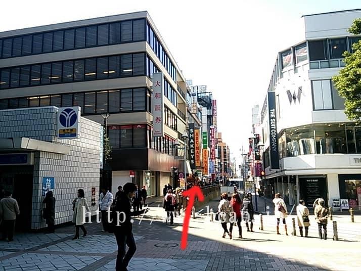 D.D.labo横浜店のアクセス方法5