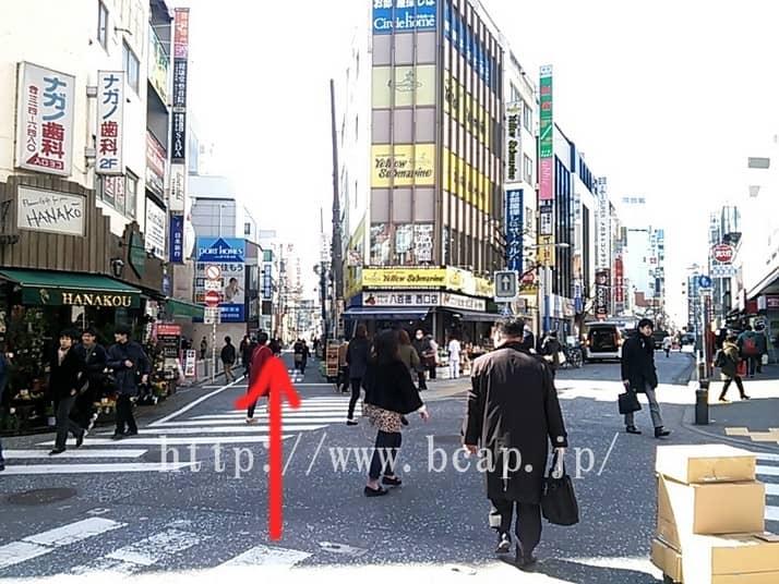 D.D.labo横浜店のアクセス方法7